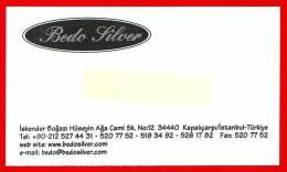 Bedo Silver.  Silver Gift Articles. Istanbul. Turkey - Publicidad
