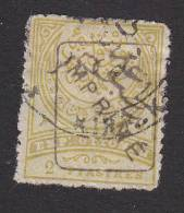 Turkey, Scott # P13, Used, Crescent And Tughra Overprinted, Issued 1891 - 1858-1921 Empire Ottoman