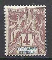 SENEGAMBIE ET NIGER N� 5 NEUF** LUXE