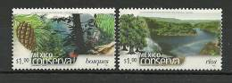 MEXIQUE.Protection De La Faune Des Forêts  (Mexico Conserva) 2 T-p Neufs ** ( These Stamps Are Getting Scarcer Everyday) - Other