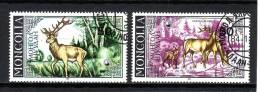 Mongolie YV  1349/0 O 1985 Cerf - Gibier