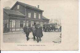 AIR SUR LA LYS - La Gare Du Chemin De Fer - Aire Sur La Lys