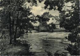 Bersillies  :  L´abbaye :  Chute D'eau De La Thure Au Vieux Moulin     (  Grand Format ) - Non Classés