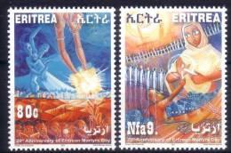 ERITREA Erythrée 2011 MNH ** 20th Anniv Of Martyrs Day - 20 ° Anniversario Della Giornata Dei Martiri - Eritrea