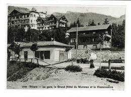 Suisse // Vaud // Villars, Photo, Reproduction D\´une Ancienne Carte Postale (Format 12/17) - VD Vaud