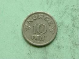 1952 - 10 ORE / KM 396 ( For Grade, Please See Photo ) ! - Norvège