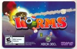 Worms Game Online Card  U.S.A.,  Card For Colletion Without Value # 277 - Gift Cards