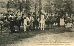 CPA 52 PASSAGE DE NAPOLEON 1 ER ET DE LA GARDE IMPÉRIALE A WASSY FÊTE DU 9 JUILLET 1911 - Wassy