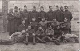 CASTEAU - Carte Photo Militaire - Mons