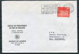 1972 Switzerland Geneva Automobile Car Exhibition Brief - Covers & Documents