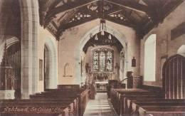 ASHTEAD  - ST GILES CHURCH INTERIOR - Surrey