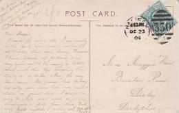 P/HISTORY - 1904 HALIFAX DUPLEX CANCELLATION - Poststempel