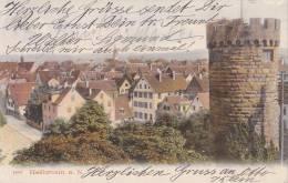 Heilbronn, Neckar, Bollwerksturm, Um  1904 - Wassertürme & Windräder (Repeller)