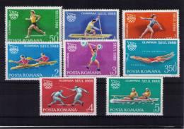 ROMANIA  Olympic Games Seoul - Summer 1988: Seoul