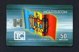 MOLDOVA - Chip Phonecard As Scan (some Wear Marks) - Moldawien (Moldau)