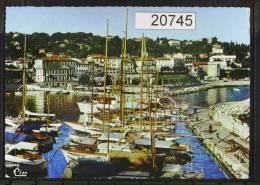 Saint Jean Cap Ferrat Vue Du Port Et Les Hotels - Saint-Jean-Cap-Ferrat