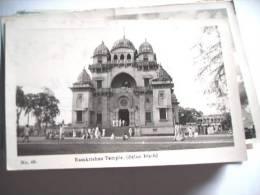 Azië Asia India Ramkrishna Temple Belur Maih - India