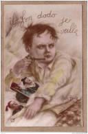 ILLUSTRATEUR E. ALBERT BEERTS - MILITARIA - PATRIOTIQUE - 104 - IL FON DODO JE VEILLE - éditeur DIX - Guerra 1914-18