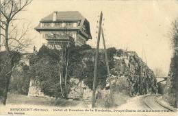 Boncourt , Hotel Et Pension De La Rochette,proprietaire SCHERRER FRET - Sin Clasificación