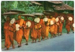 SRI LANKA - BUDDHIST PRIESTS / THEMATIC STAMPS-BIRD-CHILDREN - Sri Lanka (Ceylon)