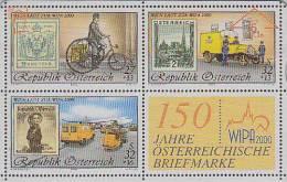 TIMBRE Sur Télécarte Autriche Vélo Avion - STAMP On Phonecard - BRIEFMARKE Auf Telefonkarte Österreich - Timbres & Monnaies