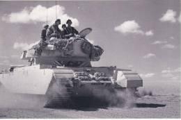 Postcard British Tank Suez Canal Egypt 1951 Crisis Nostalgia - Equipment