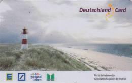 Télécarte Prépayée Allemagne - PHARE - LIGHTHOUSE In Germany Deutschland Card - LEUCHTTURM - 60 - Phares