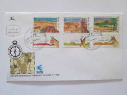 ISRAEL1988 NATURE RESERVES IN THE NEGEV FDC - Israel