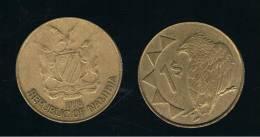 NAMIBIA -  1 Dolar 1998  KM4  -  Bird  -  Animal Coin - Namibia