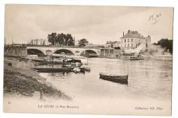 LA SEVRE - A Pont-Rousseau - Barque Accostées - Carte Vierge - France