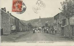 Gespunsart  - Route De Pussemange - 1910  ( Voir Verso ) - France
