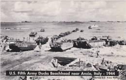 U.S. Fifth Army Ducks Beachhead Near Anzio, Italy - 1944. Publ. By Dells, Wisconsin - War 1939-45