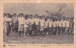 """Missions De Scheut  ACP Nels Animée Philippines  élèves D´une école Dans Le Pays Des Igorottes""""   """"  Voir Scans - Philippines"""