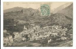 CPA -AX LES THERMES -VUE GENERALE -Ariège (09) -Circulé 1906 -Phototypie Gadrat - Ax Les Thermes