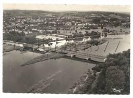 Vichy (03) : Vue Aérienne Au Niveau Dunouveau  Pont Sur L'Allier Env 1950. - Vichy