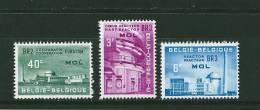 Belgique  Timbres Neufs ** De 1961 N°1195 A 1197 - Belgique