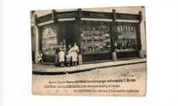 BERCHEM - Winkel Mercerie Magazijn LEESTMANS - Hoek Drie Koningen Straat - Antwerpen