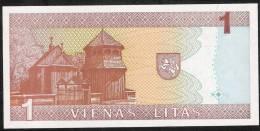 LITUANIA  P53a  1  LITU  1994   Serie AAA     UNC. - Lituanie
