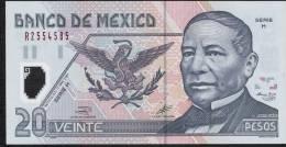 MEXICO  P116a   20  PESOS   17 May 2001   Serie H     UNC. - Mexico