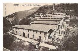 VOIRON PAPETERIES DES GORGES  BEAU PLAN  ,A VOIR !!  REF 32372 - Industrie