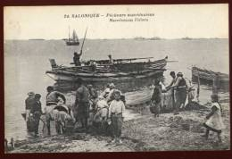 Cpa  De Grèce Salonique  Pêcheurs Macédoniens    DUA4 - Griechenland