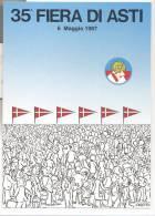 3896-ASTI-35° FIERA CITTA´DI ASTI-1987-FG - Manifestations