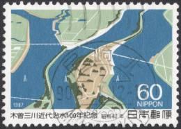 Japan, 60 Y. 1987, Sc # 1753, Mi # 1748, Used - Usati