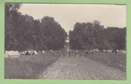 CHAMARANDE, Années 20 : L'Allée Du Château Et Les Tentes. Scouts De France. 2 Scans. CARTE PHOTO - Scoutisme