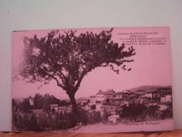 CHAVANIAC-LAFAYETTE (HAUTE LOIRE)  VUE GENERALE. A GAUCHE, LE CHATEAU. - France