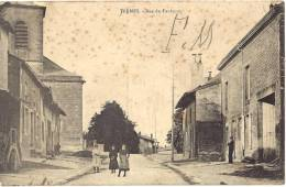 ARDENNES 08.THERMES RUE DU FAUBOURG - Francia