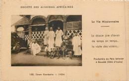 COTE D'IVOIRE - BOUAKE - Presbytère Du Père Schmidt - Côte-d'Ivoire