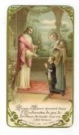 """IMAGE PIEUSE : """" Soyez Ô Jésus Présent ... Souvenir Communion Eglise Notre Dame Du Marthuret RIOM François CASTA  """" - Communion"""