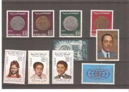Ficha Marruecos Diversas Series - Morocco (1956-...)