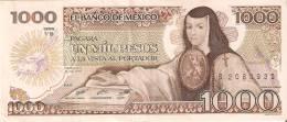 BILLETE DE MEXICO DE 1000 PESOS DEL AÑO 1985 (BANKNOTE) EBC+ - México
